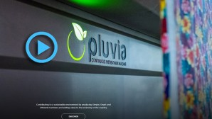 Pluvia is the most compact and modular textile machine video