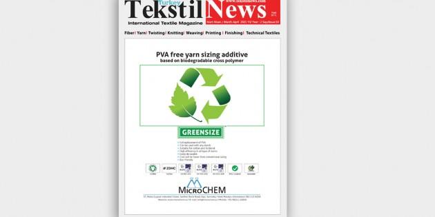 Tekstil News Online Dergi Mart Nisan 2021 Sayısı