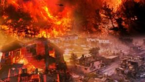 Türkiye'nin farklı bölgelerinde çıkan orman yangınlarında hayatını kaybedenler için Allahtan Rahmet Yaralananlara acil şifalar diliyoruz