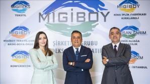"""Migiboy Tekstil'den Niğde'ye 200 milyon dolarlık  ilk yerli spandex iplik """"likra"""" yatırımı"""